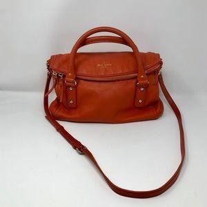 Kate Spade, Orange Crossbody Hobo Bag